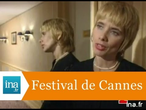 Rosanna Arquette au Festival de Cannes - Archive vidéo INA