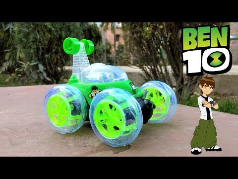 Ben 10 Remote Control Toys Unboxing And Playing With Rc Adventure | Rc Stunt Car |