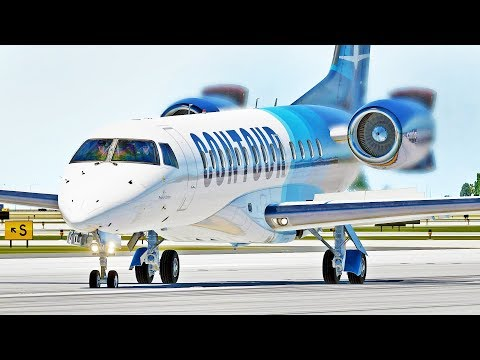 X-Crafts ERJ Family Contour Airlines | X-Plane 11