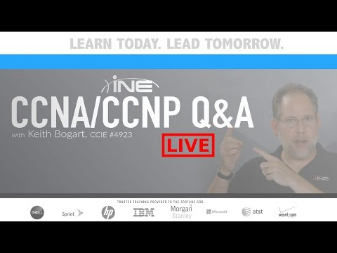 CCNA/CCNP Q&A: March 2018 - YouTube