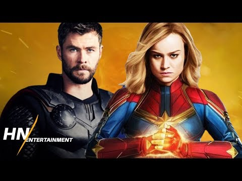 Download Captain Marvel VS Thor With Stormbreaker   Avengers: Endgame HD Mp4 3GP Video and MP3