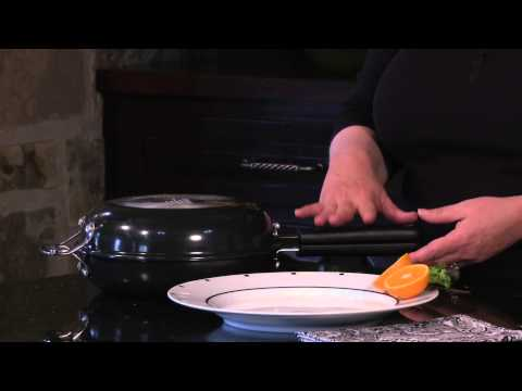 "Cuisinart 10"" Frittata Non-Stick Set (FP2-24BK) Demo Video"