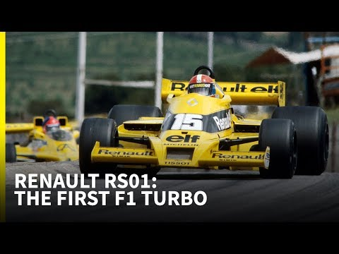 The Story Of The First F1 Turbo