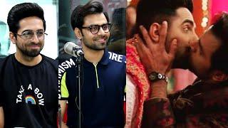 Ayushmann Shares his First Kiss Experience with a Male | Malishka | Shubh Mangal Zyada Saavdhan |