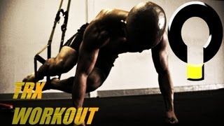 Advanced TRX core training workout routine