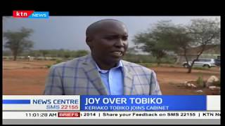Nomination of former DPP Keriako Tobiko to the cabinet received with joy in Kajiado
