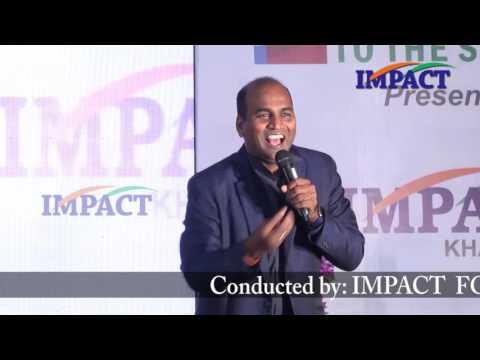 Implementation|Sunil Robert|TELUGU IMPACT Khammam 2016