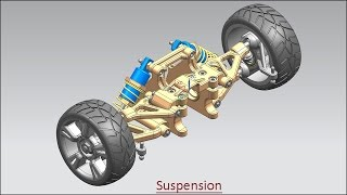 Suspension (Assembly Volume-1) Video Tutorial--Siemens NX