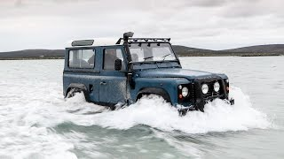 Land Rover Defender vs the Atlantic Ocean –and the car wins (just)
