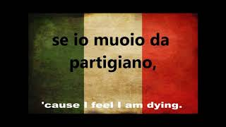 BELLA CIAO  English and Italian subtitles (Sung by the Red Army Choir)