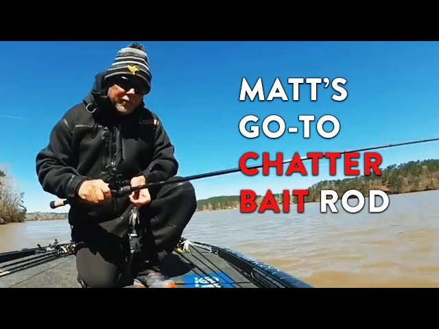 Matt's go-to Chatter Bait Rod!