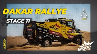 BIG SHOCK RACING // ETAP 11 // DAKAR 2020