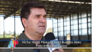 preview picture of video 'Onda Buenos Aires. Futura planta Industrial en el Polo Ind. Ezeiza.'