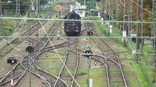 preview picture of video 'Eisenbahnromantiksonderzug in Lindau HBF am Bodensee'