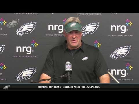 Press Conference: Eagles Head Coach Doug Pederson (12/10/17)