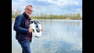 ERSTER TAUCHGANG Unterwasserdrohne BW Space Pro 4K YouCan Robot