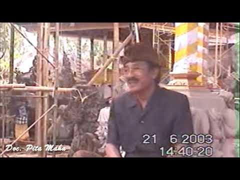 PERSIAPAN KARYA PURA DALEM BENTUYUNG  2003 | PART 1