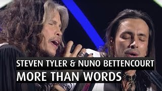 <b>Steven Tyler</b> & Nuno Bettencourt More Than Words   The 2014 Nobel Peace Prize Concert