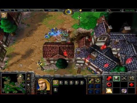 Warcraft 3 Reign of chaos(3) - Kampaň za lidi - Obrana Strahnbradu