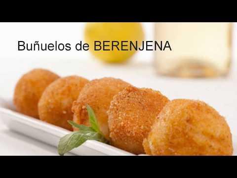Buñuelos de BERENJENA I EGO