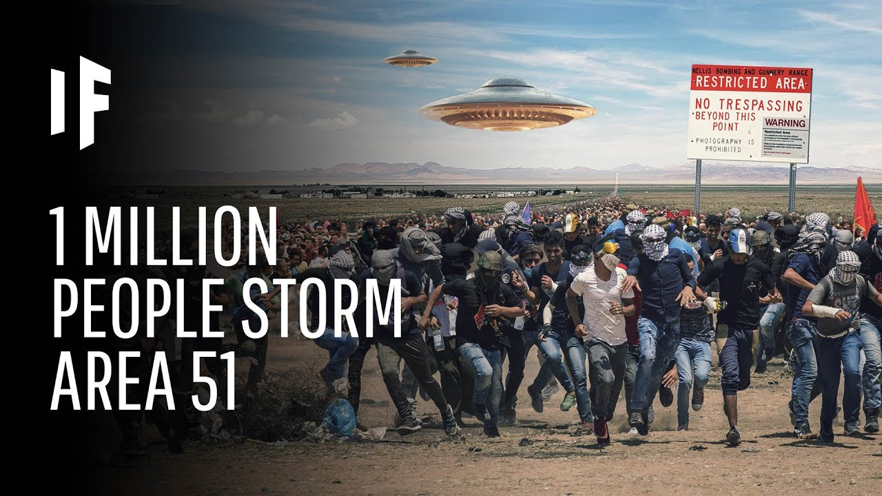What Happens If One Million People Actually Stormed Area 51? Screenshot Download