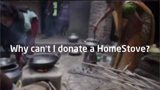 Ask BioLite | Why Can't I Donate a HomeStove?