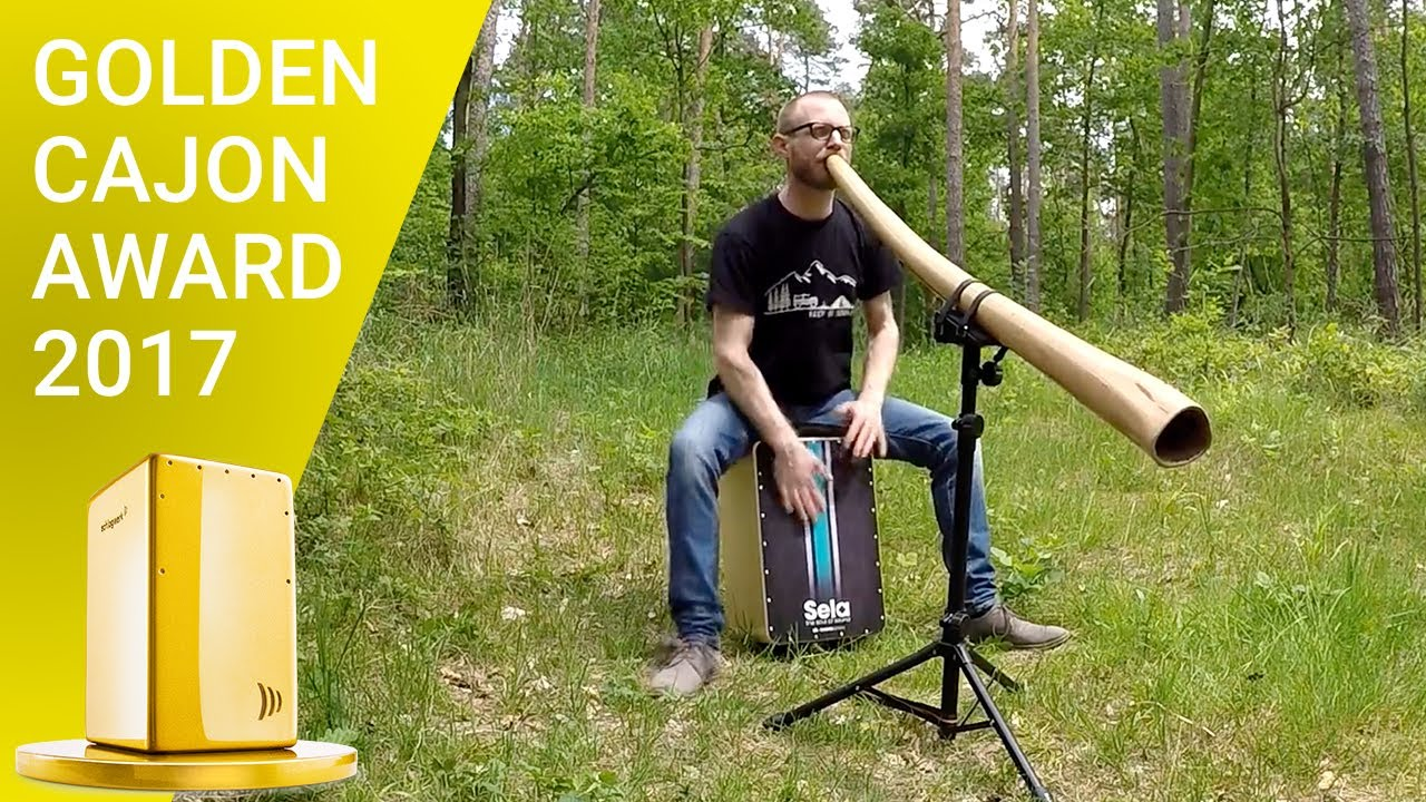 Forest jam on didgeridoo & cajon