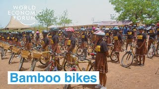 A company from Ghana is making bikes out of bamboo | Ways to Change the World