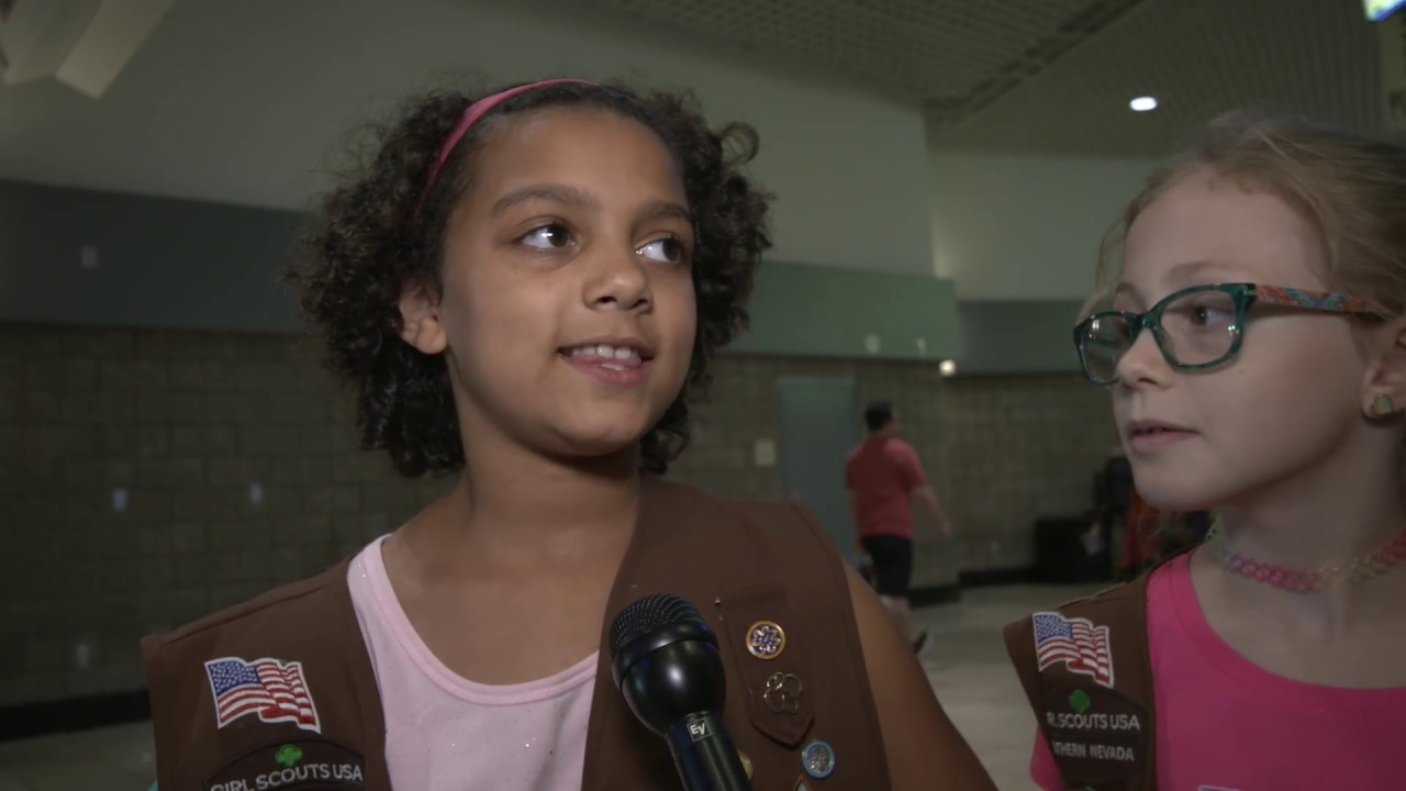 Girl Scouts of Southern Nevada received a lesson in Girl Power