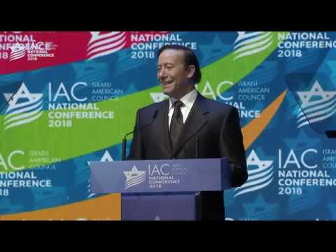 IAC Chairman Adam Milstein - Opening Plenary Speech - IAC Conference 2018