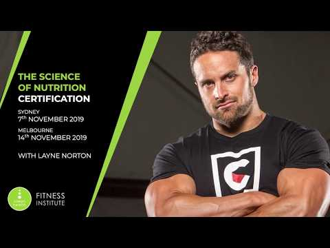 The Science of Nutrition Certification with Layne Norton - YouTube
