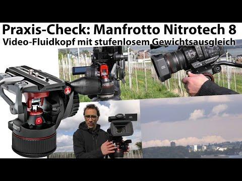 Praxis-Test: Manfrotto Nitrotech 8 - der ultimative Video-Fluid-Neigekopf?