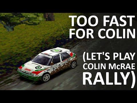 COLIN McRAE RALLY | Too fast in a Skoda Felicia