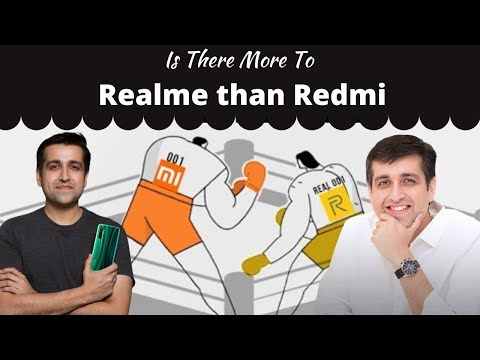 Do Realme and Redmi have identical approach?