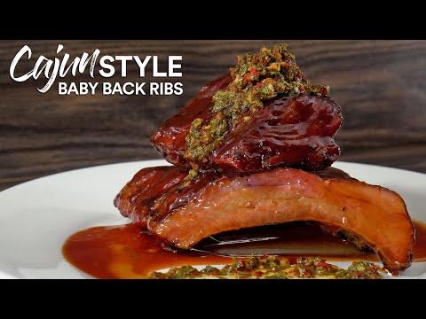 Restaurant CAJUN Baby Back RIBS, It's perfect!