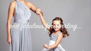 Junior Multiway Bridesmaids Dresses