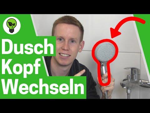 Duschkopf Wechseln ✅ ULTIMATIVE ANLEITUNG: Wie Duschschlauch und Duschbrause richtig Montieren???