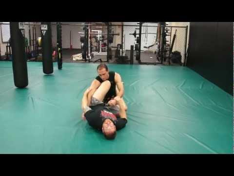 Jiu-Jitsu Ground and Pound Defense Sweep - Self Defense Techiques & Street Fighting Tips