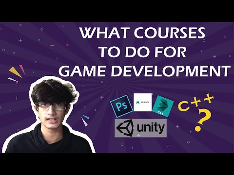 What Courses To Do To Learn Game Development | Art & Programming Game Developer | Hindi