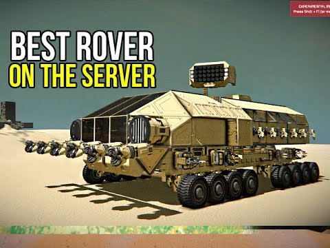 Space Engineers - Hybrid Grid Apocalyptic Survival Rover