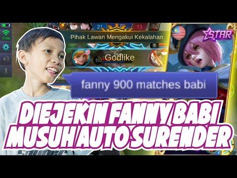 FANNY-KU DIKATAIN NOOB KAYAK BABI!!! MASIH PENGEN NGATAIN AKU?!! - MOBILE LEGENDS INDONESIA