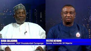 Electoral Amendment Bill: Galadima Says Buhari Govt Desperate, Keyamo Disagrees Pt.3