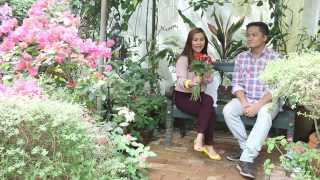 1st Restaurant To Grow And Serve Edible Flowers - Philippine Book Of Records