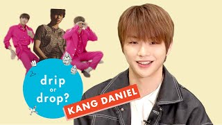 'PARANOIA' Singer Kang Daniel Reacts to Wild Fashion Trends | Drip or Drop? | Cosmopolitan by Cosmopolitan