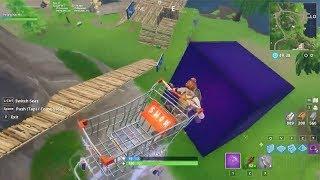 Fortnite Shopping Kart Tricks on the Cube (by Pelegino)