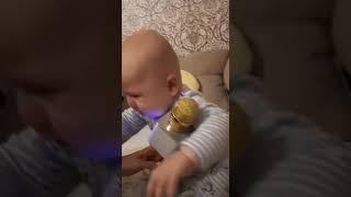 #укурскоговокзала#дети#прикол#2019#песня#реакция#плачет#малыш#осень#ребенок