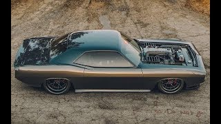 BIG ENGINES POWER   MUSCLE CARS SOUND 2018 #5