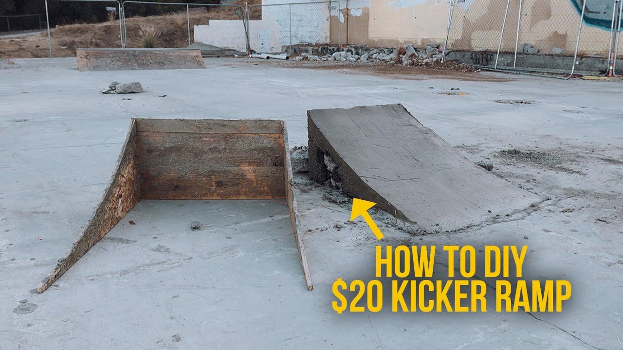 How To DIY Spot // $20 Kicker Ramp
