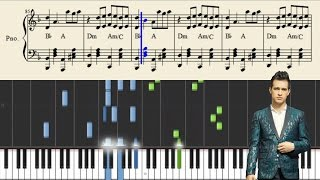 Panic! At The Disco: Crazy=Genius - Piano Tutorial + Sheets