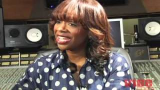 Kandi Burruss talks about a funny moment in the studio with Donna Summer's